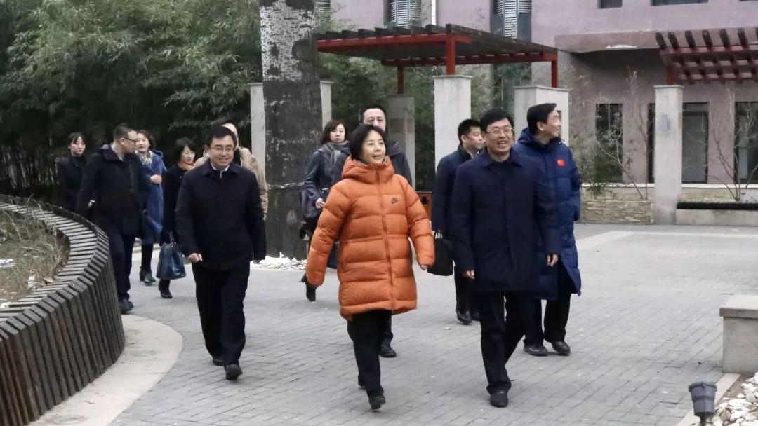 国家体育总局杨宁副局长来我院调研考察
